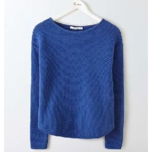 Boden • Boat Neck Knitted Cotton Sweater